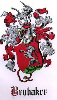 Brubaker Coat of Arms